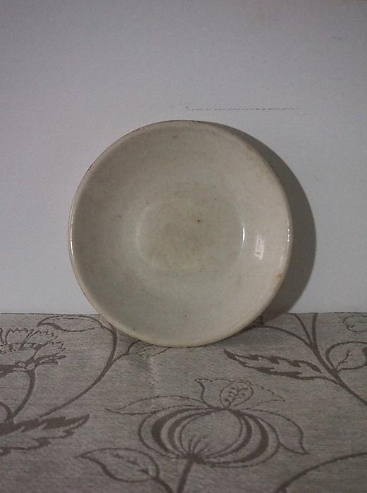 古いクレイユ&モントローの小皿