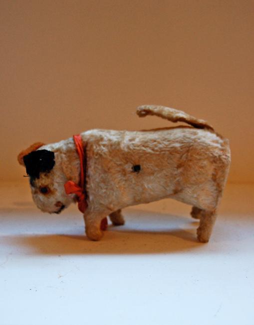 朽ちた犬のおもちゃ