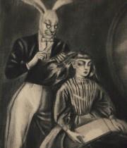 アリスの夢 『 髪をすかれるアリス 』