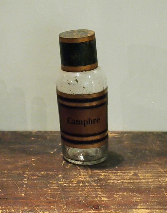 薬ビン Camphre