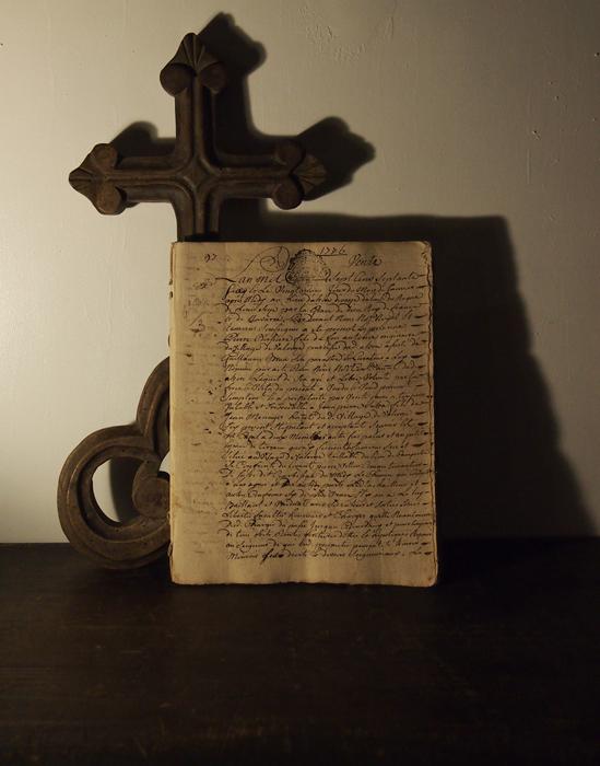 1776年の古文書