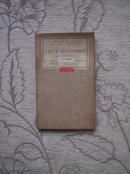 古い地質学地図 3