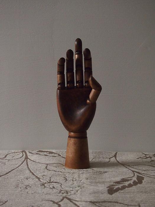 マヌカンの手 3