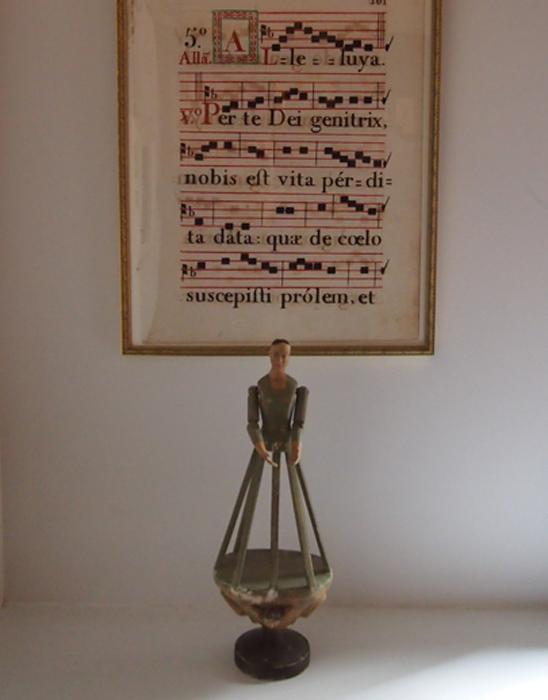 18世紀のネウマ譜 1