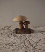 古いキノコの模型23 Psalliote Champêtre