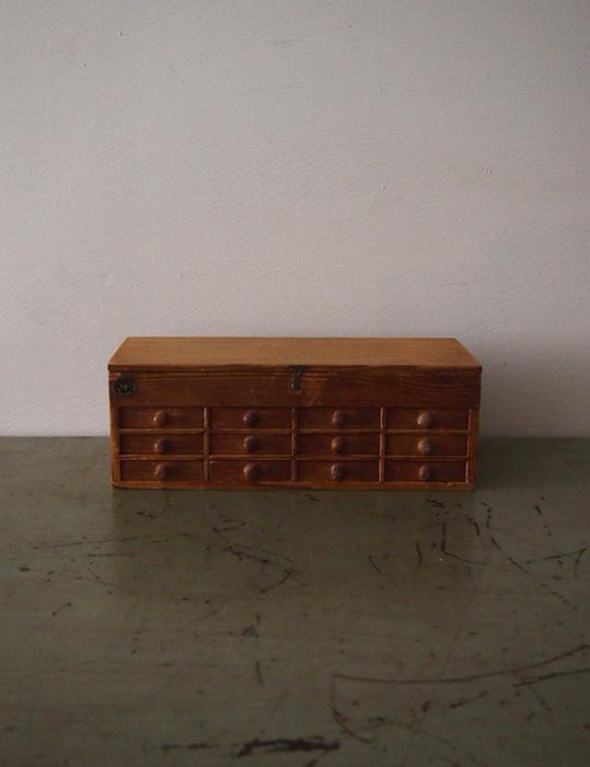 時計職人の木製ケース