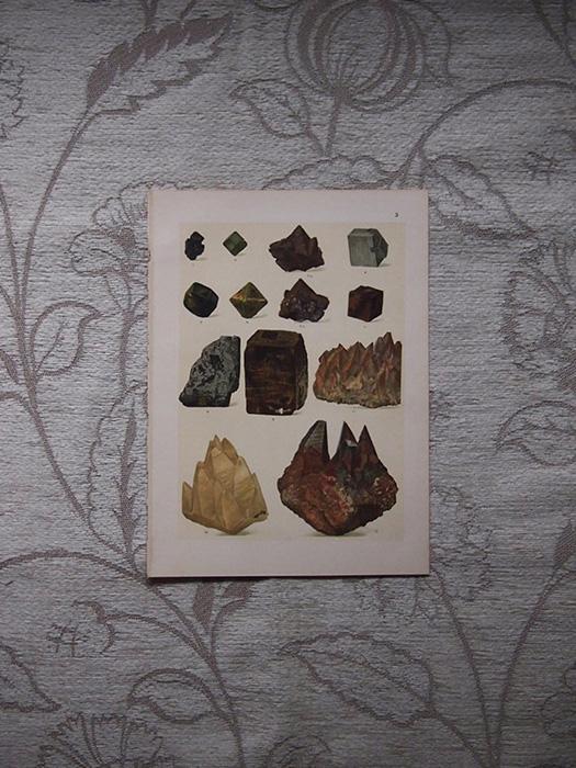 鉱物版画 2 Pseudomorphosen