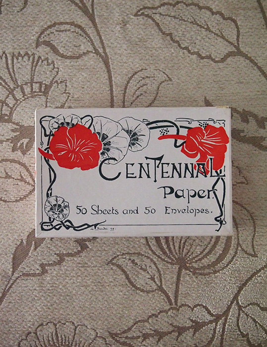 古いレター・セット Centennal Paper