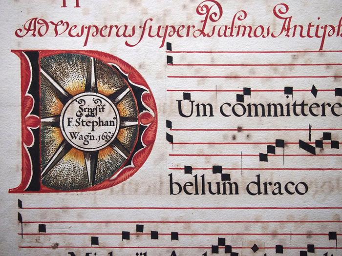 15世紀のネウマ譜