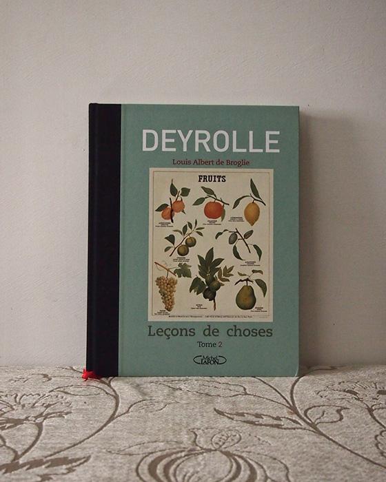 DEYROLLEの本 Leçons de choses