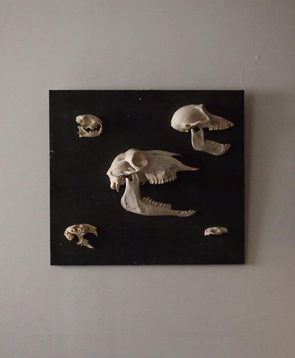 頭蓋骨のオブジェ
