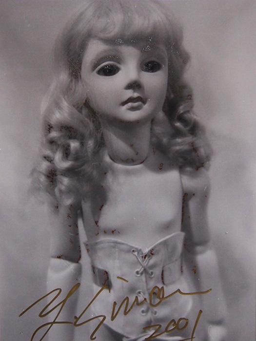 四谷シモンの人形の銀塩写真