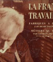 LA FRANCE TRAVAILLE 『FABRIQUES A PAPIER, MÉTIERS DU LIVRE』