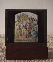 キリスト磔刑のガラス板 7枚