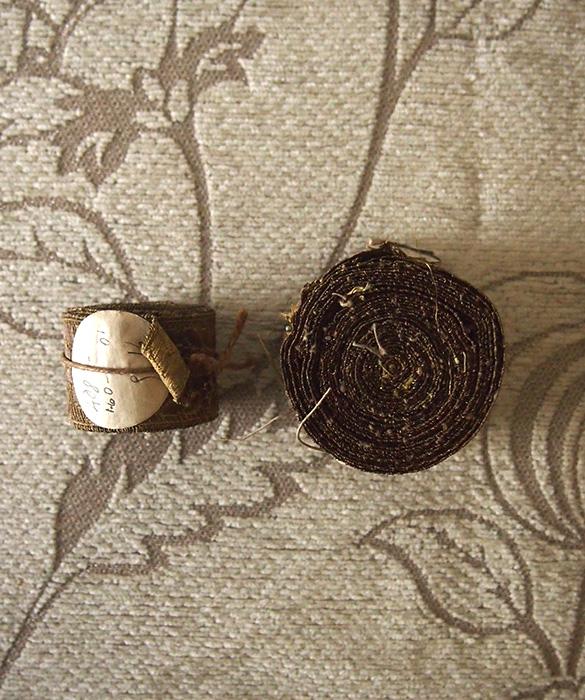 金糸の装飾リボン