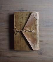 羊皮紙が表紙のノート 4