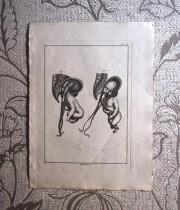 18世紀の胎児出産版画 3