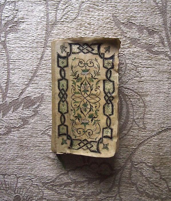 装飾的な表紙の古書 Théatre Français P.Corneille  Tome I