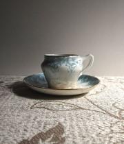 Creil et Montereau  PARADIS シリーズ cup & saucer
