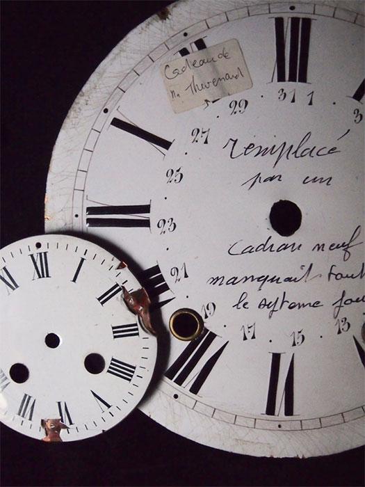 時計の文字盤 2個セット