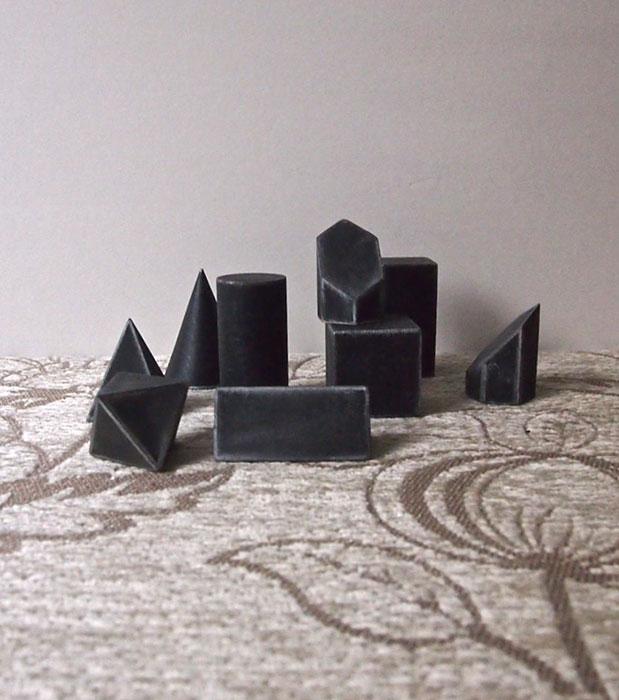 Modèle en trois dimensions  立体模型 9個