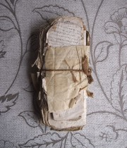 古い紙の束 7