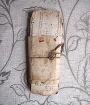 古い紙の束 6