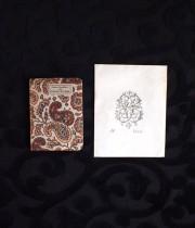 アンヴァンテール 小さな本と蔵書票