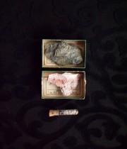 アンヴァンテール 鉱物の標本3個