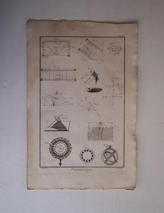 L'Encyclopédie , Gnomonique 1