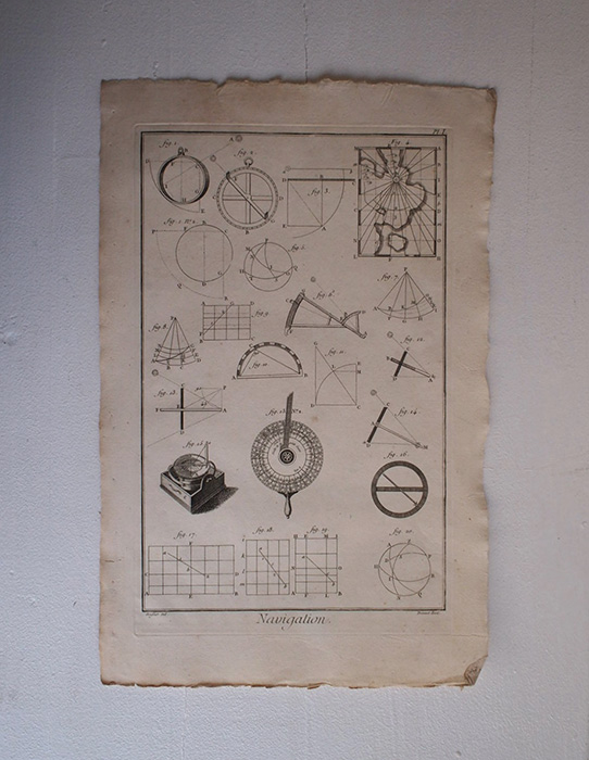 L'Encyclopédie , Navigation 1