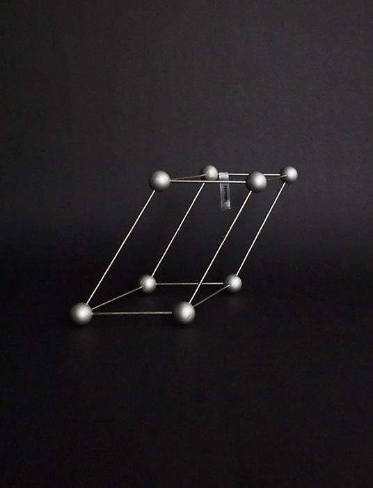 古い分子模型 TRIKLINICKÀ