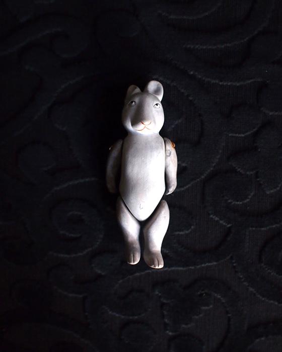アンヴァンテール ネズミウサギのビスク・ドール