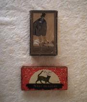 紳士と猫の紙箱