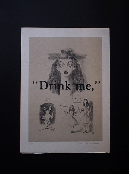 金子國義 不思議の国のアリス『 Drink Me 』