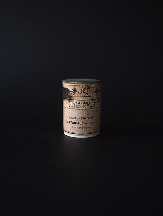 古い薬瓶 Extrail de suc épuré artichaut