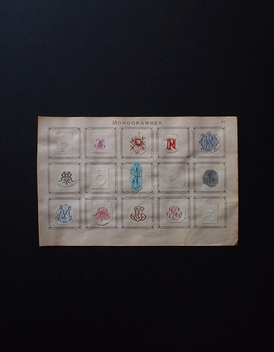 Monogrammes Collection 1