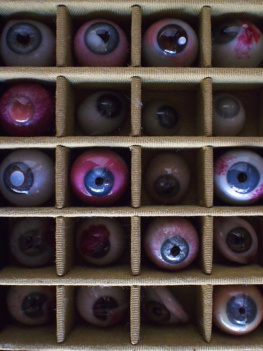 Collection oeil artificiel de Pathologie