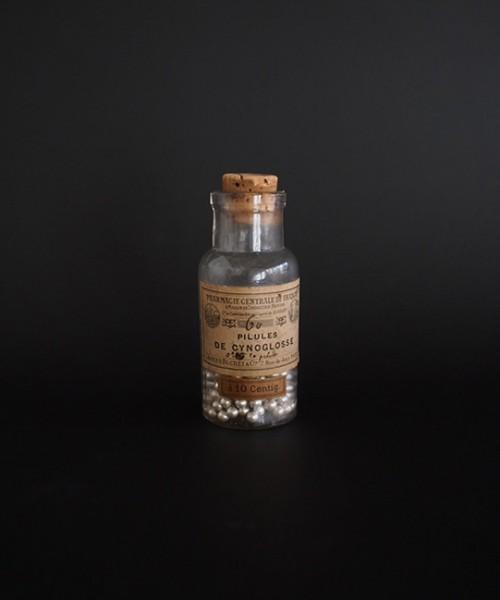 古い薬瓶 Pilules de Cynoglosse