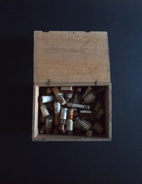 アンヴァンテール 木箱入り薬壜69本