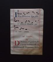 羊皮紙に書かれたネウマ譜 5