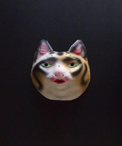 アンヴァンテール 猫のお面