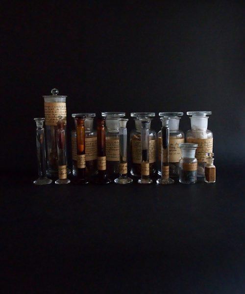 古い薬瓶 15本セット