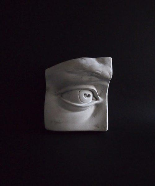 Modèle de l'oeil 眼のデッサン模型