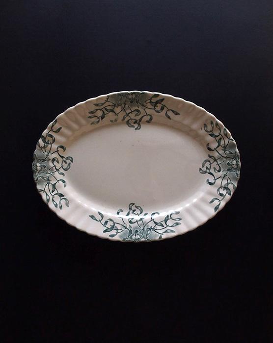 ロンシャンのヤドリギのオーバル皿