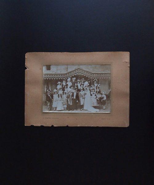 アンヴァンテール 仮装劇の子供達の写真