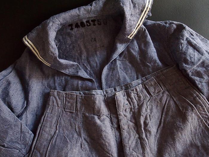 Marine Nationale セーラーシャツ・パンツ・ショーツ セット