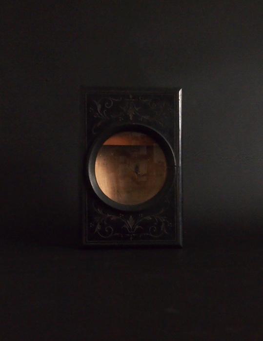 古い装飾的な拡大レンズ