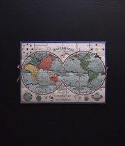 世界地図のジグソーパズル
