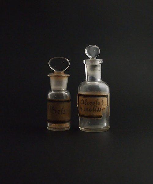 古い薬瓶 2本 B